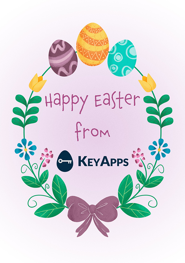 Happy Easter from KeyApps